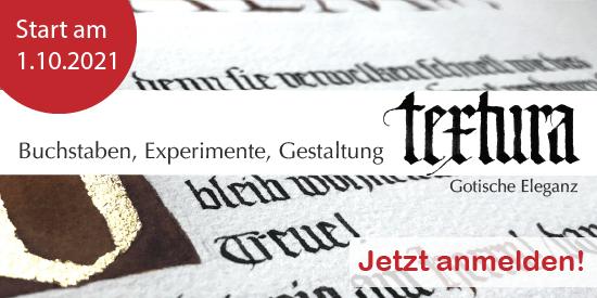textura onlinekurs kalligrafie